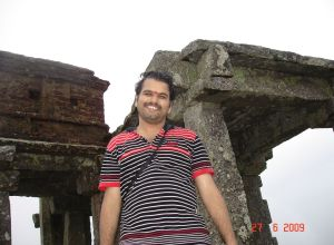 Myself @ the Mantapa (DR Durga Hill top)