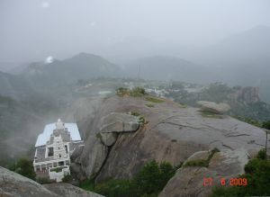 Yoga Narasimhaswamy Temple From Hilltop